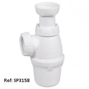 Siphon de lavabo réglable en hauteur